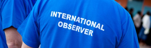 Image result for international election observers